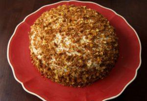 готовый торт сметанник домашний