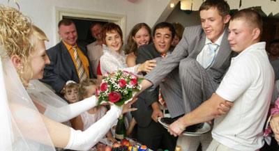 Сценарий выкупа невесты: прикольный 2016, молодежный