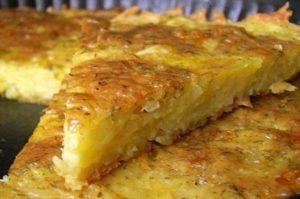 Запеканка с сыром и картофелем