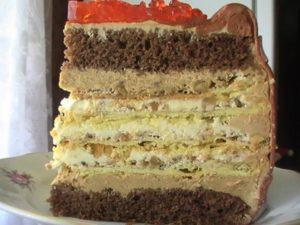 Торт «Киевский»- рецепт с фото пошагово фото