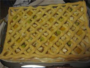 Торт «Тропиканка» с заварным тестом, пошаговый рецепт