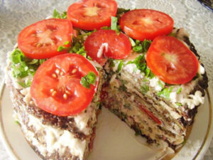 Торт из кабачков- рецепты быстро и вкусно