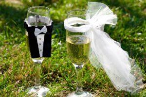 поздравления с днем свадьбы молодоженам свомими словами