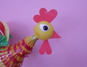 Новогодняя игрушка петух своими руками
