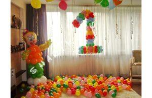 воздушные шары на ДР