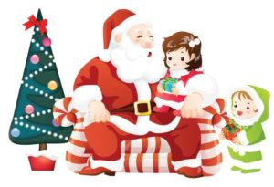 Новогодние стихи для детей 3-4 лет