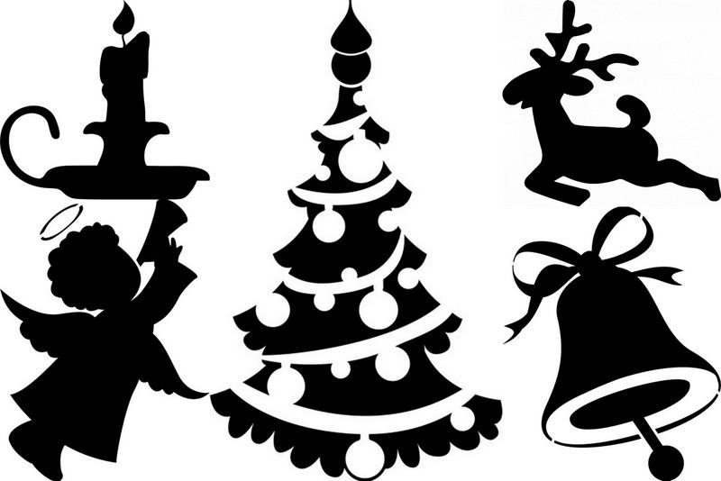 экспорт номинировался черно белые картинки на новый год для вырезания для