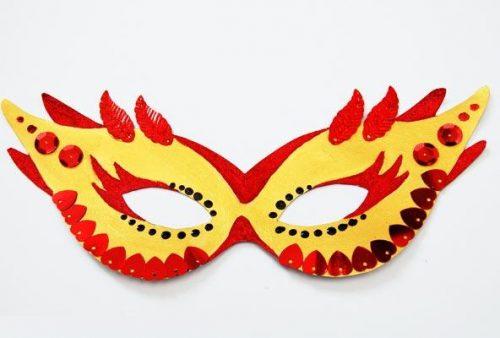 Карнавальные маски своими руками, шаблоны из бумаги