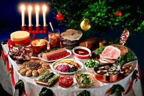 Что приготовить на Рождество 2017 г, меню и рецепты