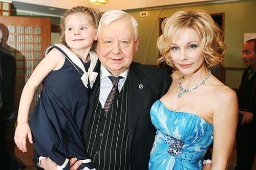 Олег Табаков биография личная жизнь семья жена дети  фото