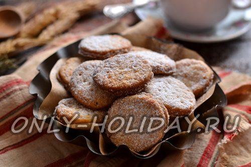 печеньки с крахмалом