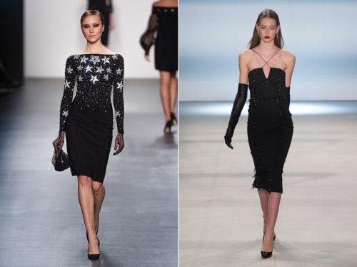 Черные нарядные платья