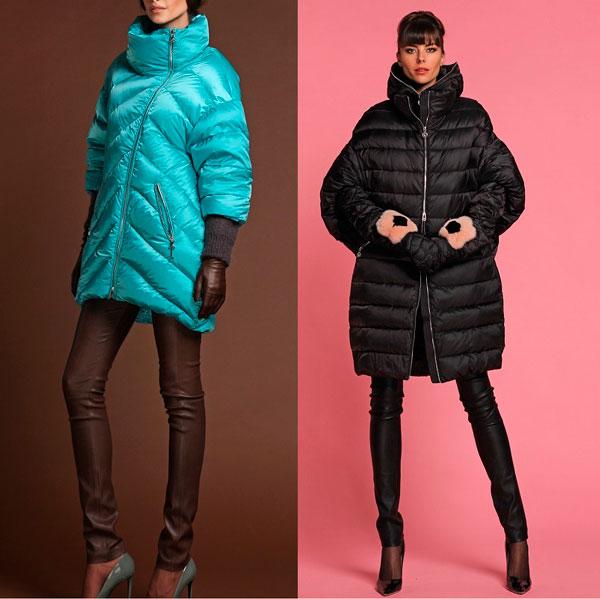 Модные женские зимние пуховики 2018-2019