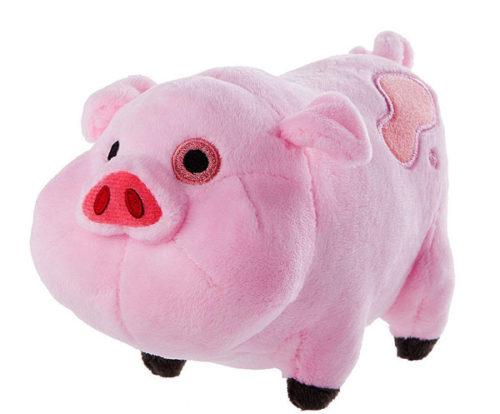 Можно подарить плюшевую свинку