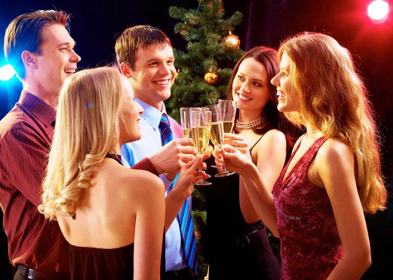 Прикольные поздравления с Новым годом коллегам