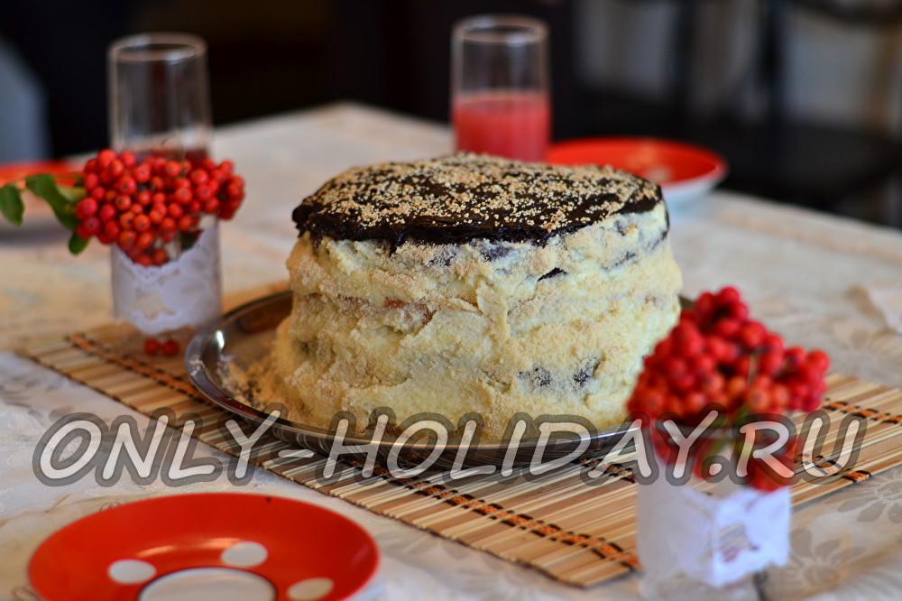 торт на праздничный стол