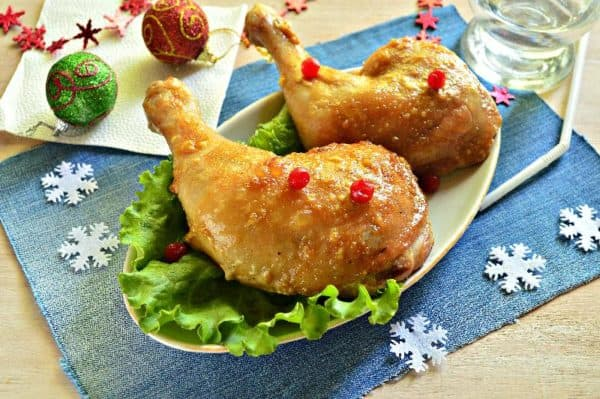 рецепты горячих блюд на Новый год 2019