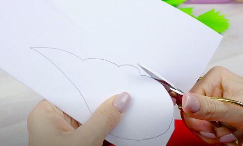 рисуем крыло