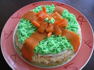 салаты рецепты с фото ко дню рождения
