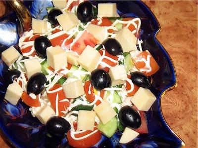 рецепт салата эдельвейс курица сыр помидор яйца