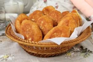 Вкусное тесто для жареных пирожков