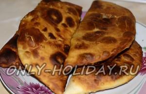 Вкусное тесто для чебуреков: рецепт