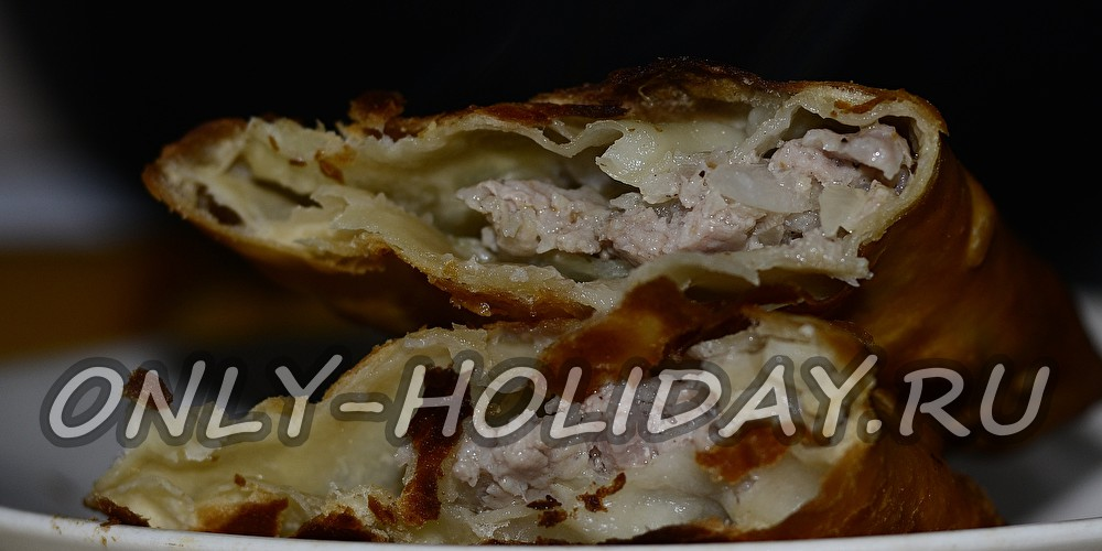 Вкусное тесто для чебуреков