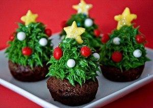 Новогодние пирожные с сюрпризом