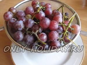 Помыть виноград