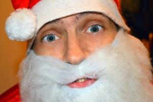 Борода Деда Мороза из синтепона