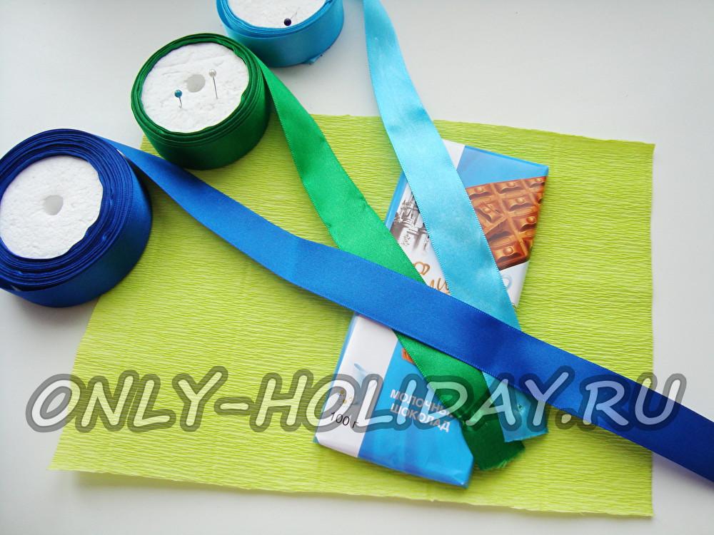 Упаковка цветов в гофрированную бумагу своими руками