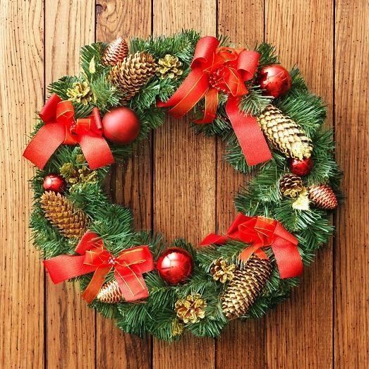 Из чего сделать рождественский венок своими руками