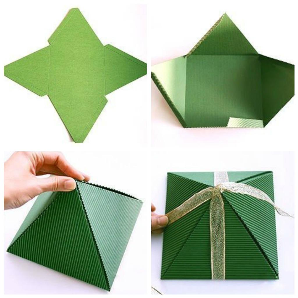 Маленькая упаковка для подарка 72