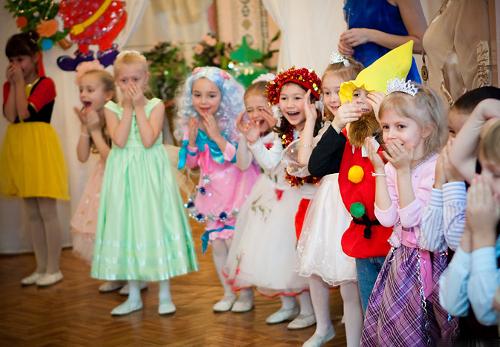 Детские праздник новые конкурсы