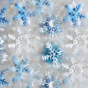 Снежинки на новый год своими руками из