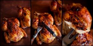 Курица с хрустящей корочкой в духовке