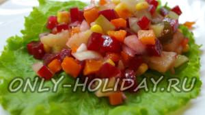 Вкусный салат «Винегрет»
