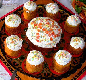 Вкусные куличи на Пасхальный стол