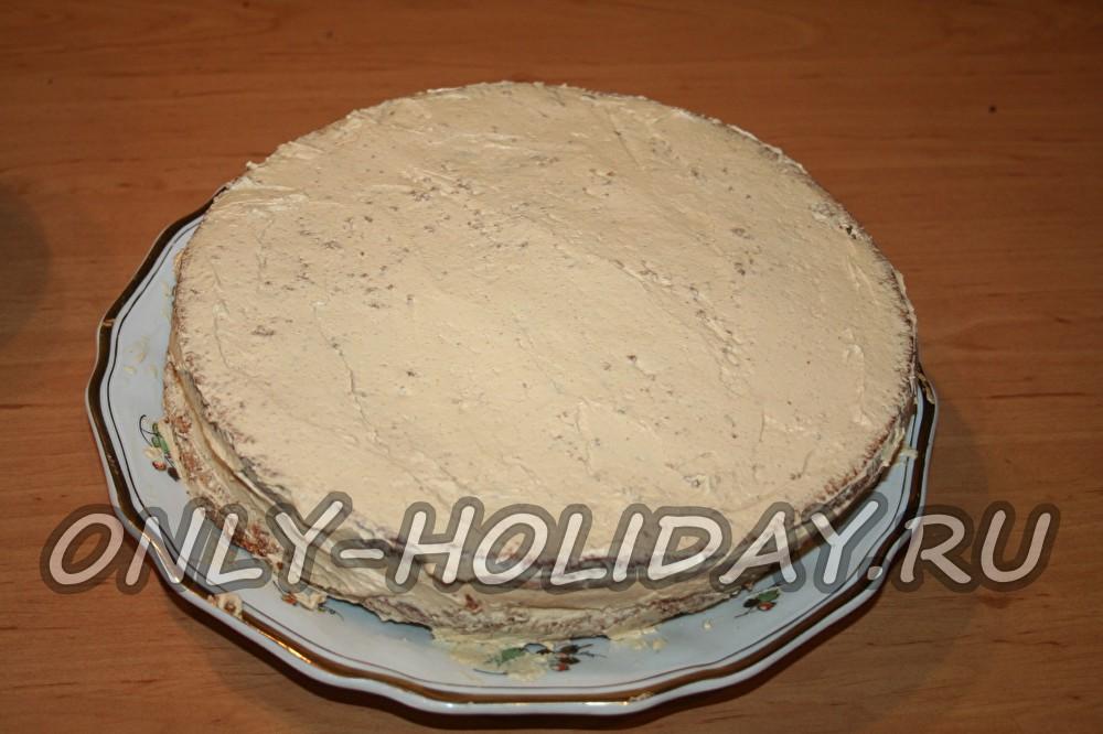 Наполеон торт с вареной сгущенкой рецепт с фото и сметаной