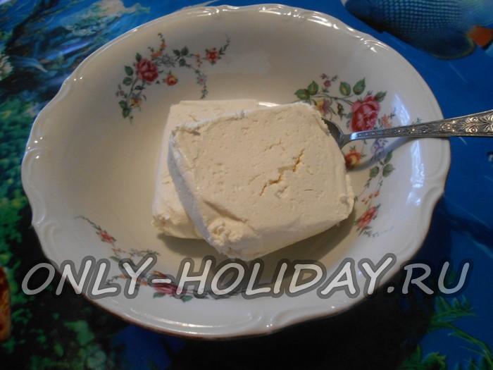 Творожная запеканка из 1 кг творога рецепт