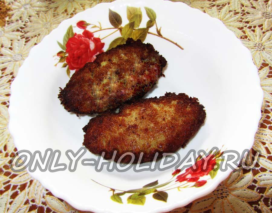 рыбные котлеты на манке рецепт с фото