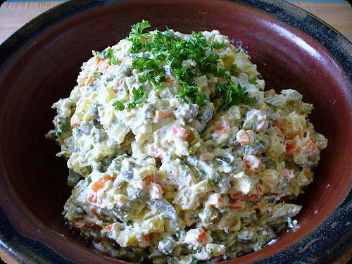 рецепты салатов без яиц простые и вкусные