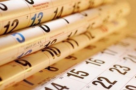 Маленький календарь 2013 года