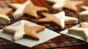 Новогоднее подарочное печенье