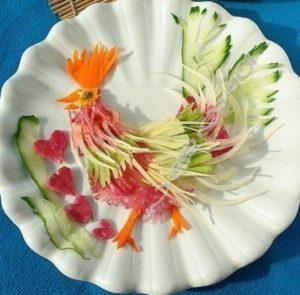 Как приготовить салат «Петух»
