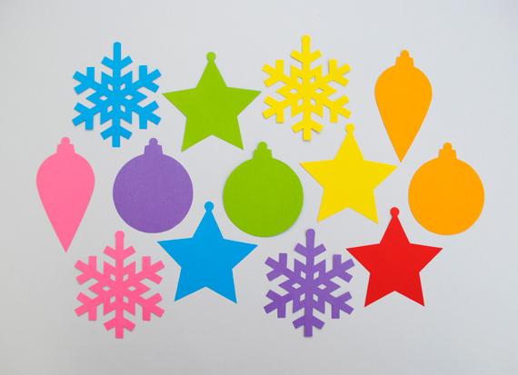 Новогодние игрушки и украшения из бумаги своими