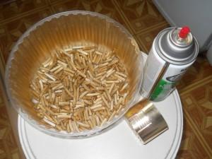 поделка из макарон