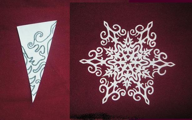 Сделать своими руками новогодние снежинки из бумаги