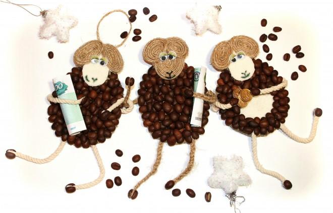 Кофейная обезьянка своими руками на новый год
