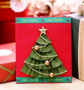 Подвесные ёлочные открытки